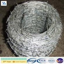 Bwg16 * 16 Fil de fer barbelé galvanisé par tonne (XA-BW9)