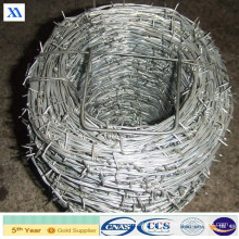 Bwg16*16 Galvanized Barbed Wire Price Per Ton (XA-BW9)
