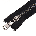 Gun Color Brass Teeth Zipper para equipaxe