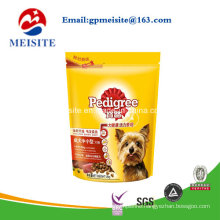 Customized Stand up Pets Food Packaging Bag