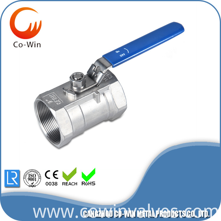 1PC Threaded Ball-Valve