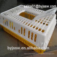 Precio competitivo jaulas de pollo vivos para el transporte de la granja