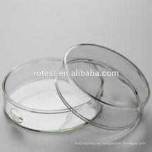 Cristalería de laboratorio Borosilicato Vidrio Petri Plato