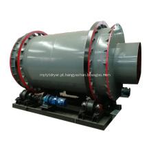 Secador de Tambor Rotativo de Equipamento de Secagem Industrial