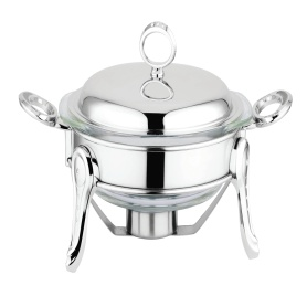 Chafing Dish dengan Stainless Steel Lid