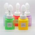 Botella cosmética de alto grado de los PP de 250ml con un cepillo (NB184-2)