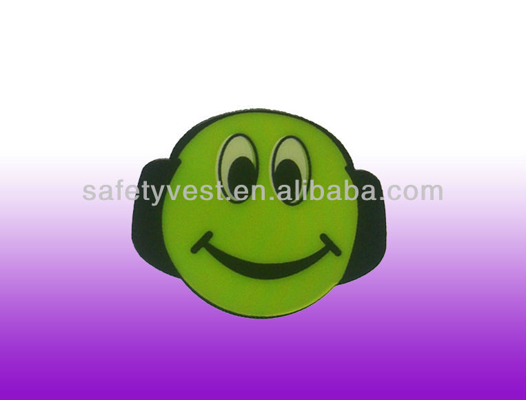 Cartoon Reflective Pvc Sticker