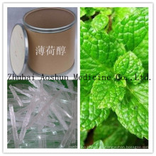 100% natural y cristal de mentol de alta calidad