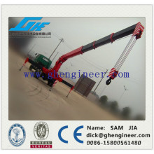 mobile telescopic boom truck mounted crane
