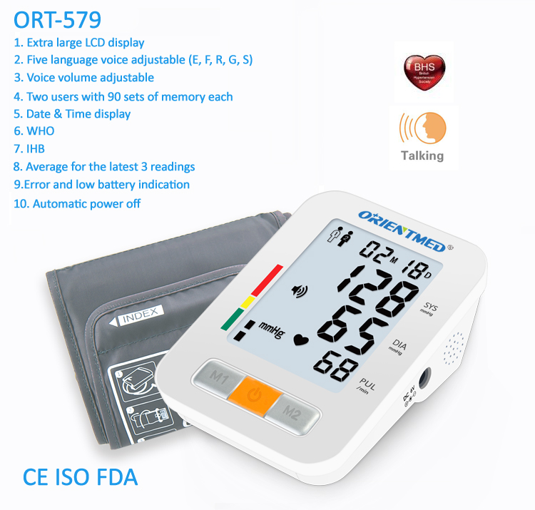 ORIENTMED-579-Details-of-blood-pressure-monitor