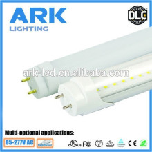 Alibaba high lumens epistar SMD 2835 5000K milky cover 2ft 4ft dlc cul ul led t8 shenzhen