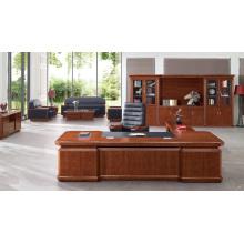 2800mm Büro Executive Schreibtisch Antik