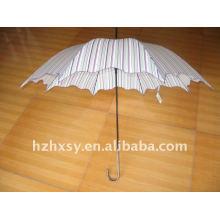 parapluie publicitaire forte feuille