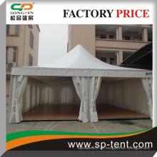 Doppelter pvc beschichteter Aluminiumrahmen 8mx8m Hochzeitszelt im Freienpagodenzelt