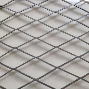 Metal expandido achatado anti-corrosão