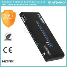 Soporte 3D 1080P 4kx2k 5X1 HDMI Switcher para video