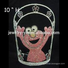 wholesale crystal hair accessories custom baby bear headband