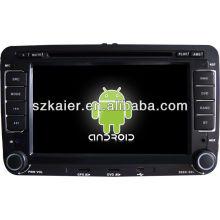 Dvd do carro do sistema Android para VW Sagitar / Magotan / Tiguan / Polo / Eos