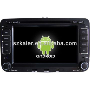 4.2.2Android System Auto DVD-Player für VW Sagitar / Magotan mit GPS, Bluetooth, 3G, iPod, Spiele, Dual Zone, Lenkradsteuerung