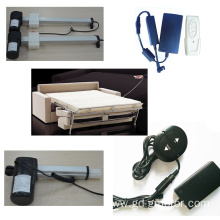 Inexpensive linear actuator for electric sofa