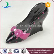 Специальный дизайн обуви на высоком каблуке Ceramic Money Bank