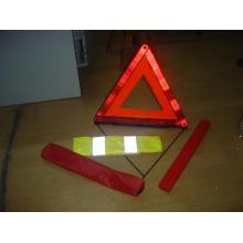 Kits de seguridad con triángulo de advertencia