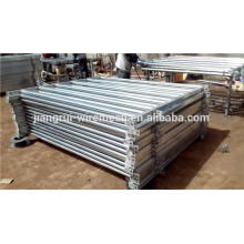Hot-dipped galvanized cattle panel gate