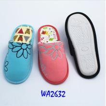 Women's Fashion Winter Jersey Binding Indoor Slippers