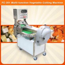 Wurzelgemüse- u. Blatt-Gemüse-Ausschnitt, der würfelnde würfelnde würfelnde Maschine schneidet