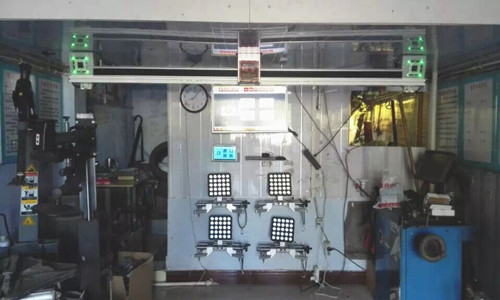 Quick 3D Wheel Alignment System