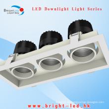 Bridgelux LED Downlight LED Luz de techo