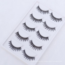 Permanent Synthetic hair Silk Lashes Private Label False Eyelashes