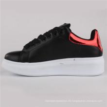 Zapatos de mujer PU Zapatos de cuero de inyección Zapatos casuales Snc-65005