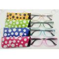 Новые коллекции Colorful Pouch Pin Шарнир Очки для чтения (WRP410266)