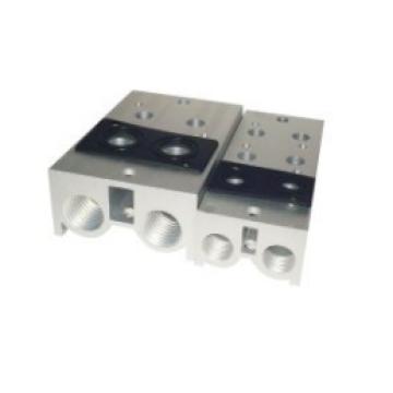 solenóide válvulas acessórios colector de ajuste série 3v