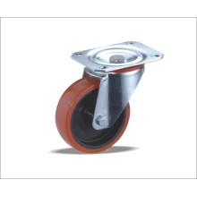 Roda giratória com roda TPU