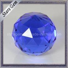 Belle boule de verre de décoration d'art de couleur de Tanzanite