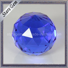 Beautiful Tanzanite Color Art Decoration Glass Ball