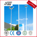 galvanized steel street light pole