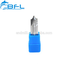Solid Carbide Inner R End Mill for Processing Hardness Steel