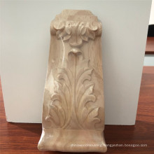 cheap corbels Woodcarving Architectural Leaf Corbel decorative wood corbels