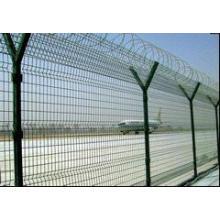 Cercado de acero galvanizado del aeropuerto de la malla de alambre del nuevo diseño diseñado