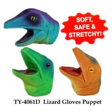 Funny Lizard guantes de juguete de marionetas