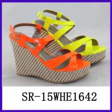 2015 Sommer Sandalen neue modale Schuhe sexy Dame Schuhe Dame Mode Schuh