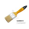 Cepillo de pintura de mango de madera 100 cerdas puras