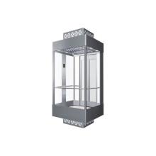 Vidro de Observação Gearless Elevador de Passageiros Preço de Fábrica