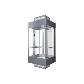 Gearless Observation Glass Passenger Lift Factory Price