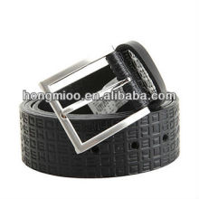 hot man's jean belt letter print PU belts