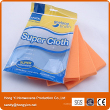 Tissu non-tissé allemand de nettoyage de cuisine de Fabrc, tissu non-tissé de polyester de 60% de viscose + 40%