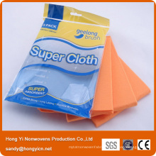 German Nonwoven Fabrc Kitchen Cleaning Cloth, 60%Viscose+40%Polyester Nonwoven Cloth